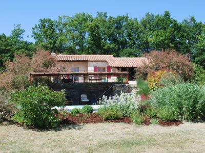 Photo for COUNTRY HOUSE AT THE FOOT OF LUBERON - from 800 to 1350 € / week