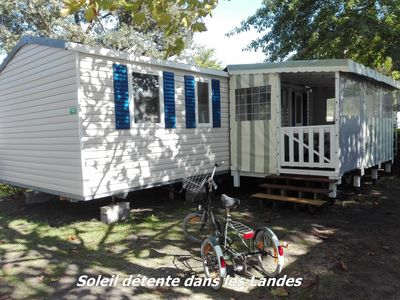 Photo for Mobile Home Brand new 3 bed fully equipped Holiday Village 4 stars Lake aboard