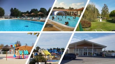 Photo for Les mathes - mobilhome holiday village 4 * - 4p
