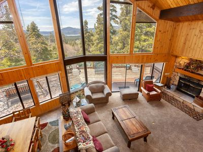 Photo for Beautiful Lake Views. Relaxing Spa! Huge Game Room. Amazing wrap around deck. BBQ.