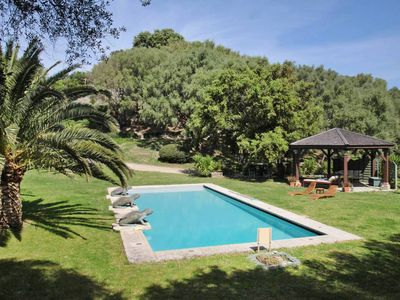 Photo for Heated barn with pool in a haven of peace near St Florent