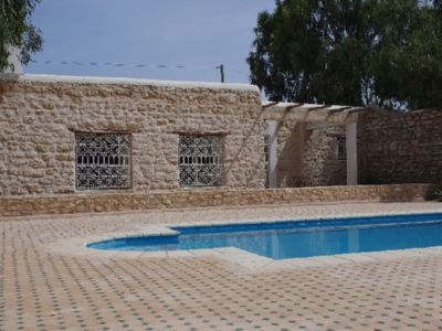 Photo for Ghazoua Essaouira countryside Beldi House & pool