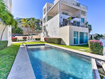 Photo for NEW! Coastal Cabo Oasis w/ Pool Access + Pvt Patio