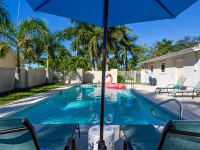 Photo for Waterfront Home With Pool And Dock On The Beautiful San Carlos Canal.
