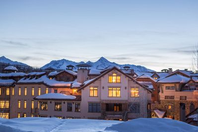 With the San Juan mountain range as a backdrop, this Mountain Village penthouse has great views and is in walking distance to bars, restaurants and the gondola.