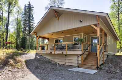 Photo for Forrest Glenn Chalet Talkeetna, Family Friendly 2 bedroom 1 bath sleeps 8
