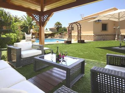 Photo for Villa San Jaime is a beautifully renovated, private villa offering six bedrooms. Far reaching sea vi