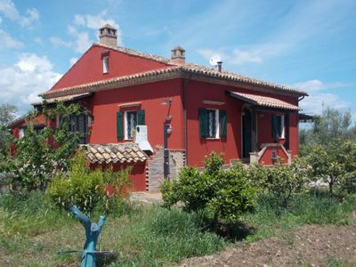 Photo for Villa surrounded by citrus groves on the Ionian coast