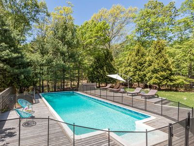 Photo for New Listing: Modern Newly Renovated 5 Bedroom East Hampton Oasis with Pool