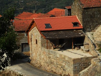 Photo for Comfortable rural cottage in ancient village in the Douro region