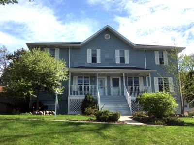 4br Townhome Vacation Rental In Lake Geneva Wisconsin 3001101 Agreatertown 9 lines, 1 racing line, 5 sky bridges & 3 spiral staircases. a greater town