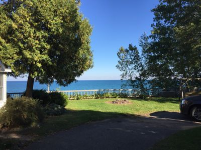 Photo for Cozy Cottage overlooking Lake Huron