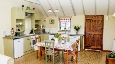 Photo for 2 bedroom cottage, with far reaching views of the garden and open countryside.