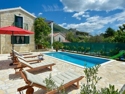 Photo for ctom192/ Holiday home in a Dalmatian-style with private pool, 4 bedrooms,up to 8 people