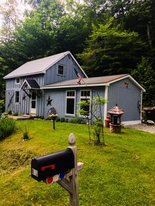 Photo for NEW LISTING - Cozy Mountain Retreat on the Roaring Branch - dogs welcome