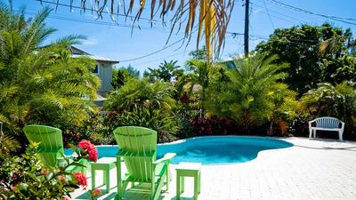 Tropical Landscaping by Pool