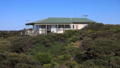 Ocean View is set at a high vantage point overlooking spectacular Vivonne Bay