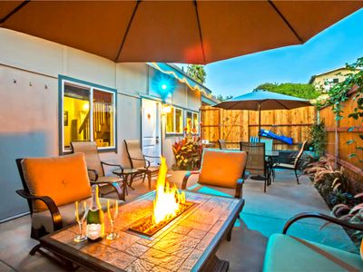 Cozy & Private - 2 Patios, A\C- 2 blocks Stroll to Beach, Priv Drive parking