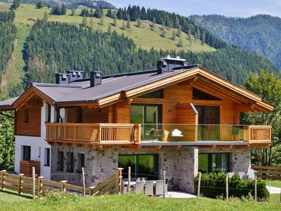 Photo for Luxurious chalet near Leogang (skiing area Saalbach-Hinterglemm) with wellness
