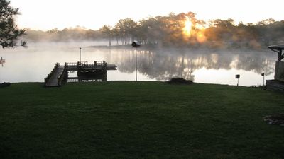 Photo for Lake Front Camp - Toledo Bend - Boating - Fishing - Swimming - Charcoal Grilling