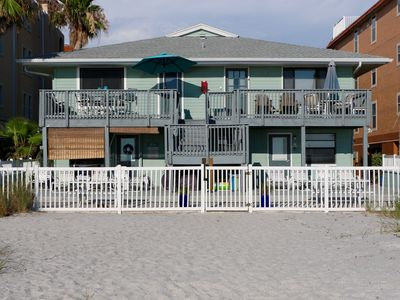 Photo for New Listing! Adorable Affordable Beachfront 2 Bedroom 2 Bathroom Apartment