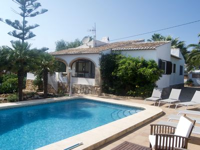 Photo for Charming villa in Javea with private pool and Wifi