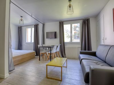 Photo for HostnFly apartments - Magnificent studio near the canal de l'Ourcq