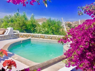 Photo for Melpomeni, Private Pool Villa at Ornos Mykonos
