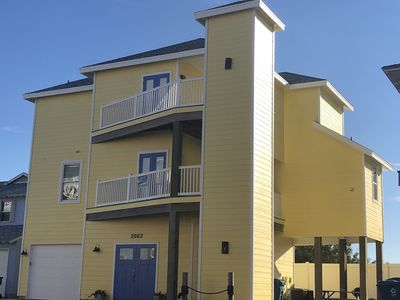 Photo for Beach Home 6 bed4 bath w/elevator+oceans views,beach boardwalk & Sandpt pool