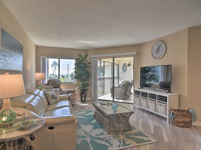 Photo for NEW! Renovated Beach Nook w/Lanai, Steps From Gulf