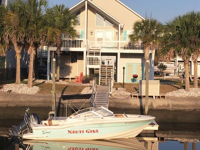 Photo for Charming Canal Waterfront- Hear the Surf - 250 yards from the beach access