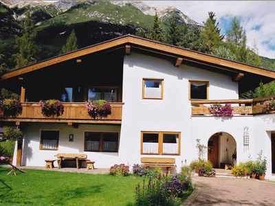 Photo for Rest and relaxation in a cozy apartment in Tyrolean style
