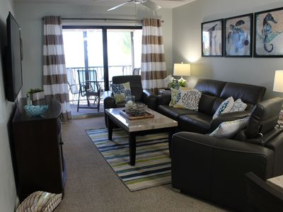 Photo for Luna Sea is a stunning 2br/2ba oceanfront condo located on Ft Myers Beach, FL