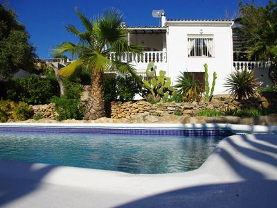 Photo for Delightful South Facing Villa With Private Pool And Garden in Moraira