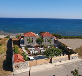 Photo for Stone-built Beachfront villas with amazing sea view.