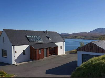 Photo for Stunning self catering house spectacularly located on the beautiful Isle of Skye