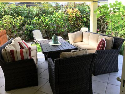 Photo for Spacious, comfortable, attractive house in gated community close to Miami Beach.