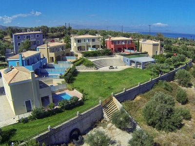 Photo for Adelianos Kampos Holiday Home, Sleeps 5 with Pool, Air Con and WiFi