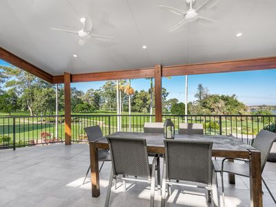 Photo for Situated at the Golf Course with views out to the picturesque Richmond River