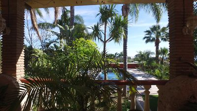 Photo for Over 6 people appt, 3 slp. kmrs, 4 min beach, Sea view Finca La Vida Loca, B & B