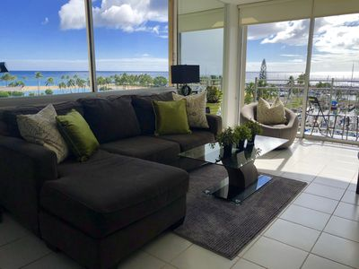 Sanitized Luxury,  Corner, 2 X the View, Ocean Front , Real 1 BDR new King Bed