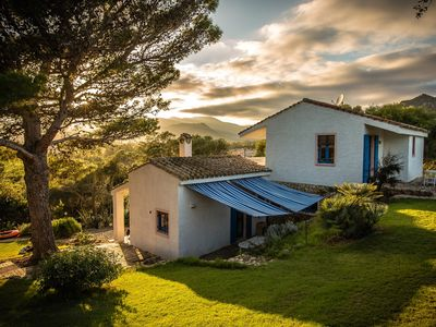 Photo for Villa on the sea of southern Sardinia in a private park, 8 beds