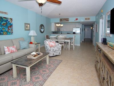 Photo for Blue Water Keyes - PH 4 Beautiful 3 bedroom condo with a great ocean front view!