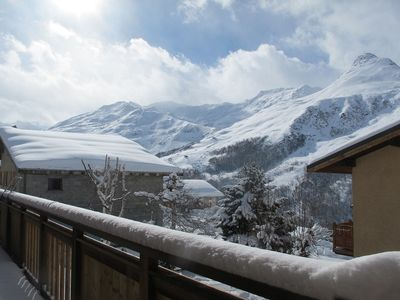 Photo for LES MENUIRES BEAUTIFUL APARTMENT OF CHARM ANY COMFORT AND SPA IN CHALET