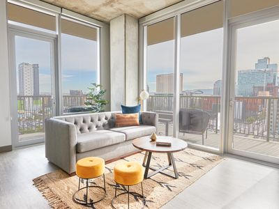 Photo for Sonder | McKinley | Beautiful 1BR + Pool
