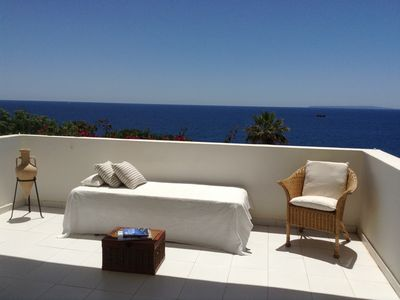 Photo for Fantastic sea view with swimming pool and beach