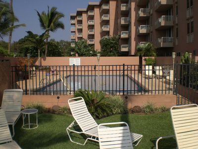 Photo for Beachfront Nani Kai Hale 407 on Sugar Beach in Kihei