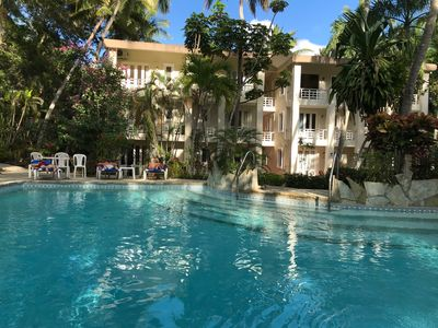 Photo for 3 BEDROOMS APPARTMENT WITH SWIMMING POOL IN THE CENTER OF CABARETE