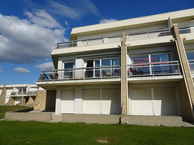Photo for Studio alcove 30 m2 facing the sea with balcony secure residence Plein Sud 2/4 pers
