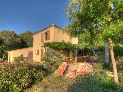 Photo for Cottage 2 bedrooms in the countryside, panoramic views and close to the sea.
